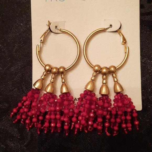 Time and Tru earrings